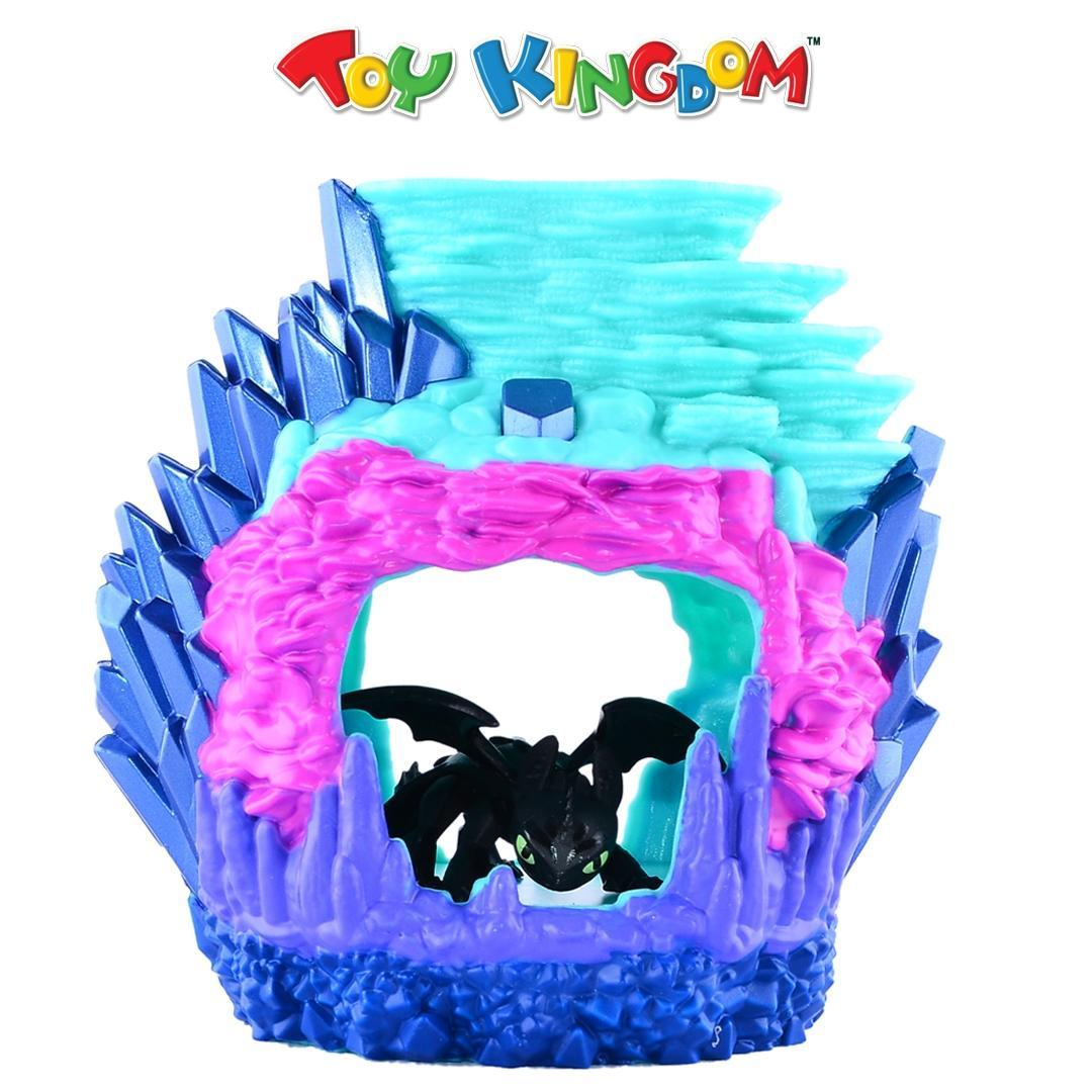DreamWorks How to Train Your Dragon The Hidden World Toothless Dragon Lair  Hidden World Playset for Kids
