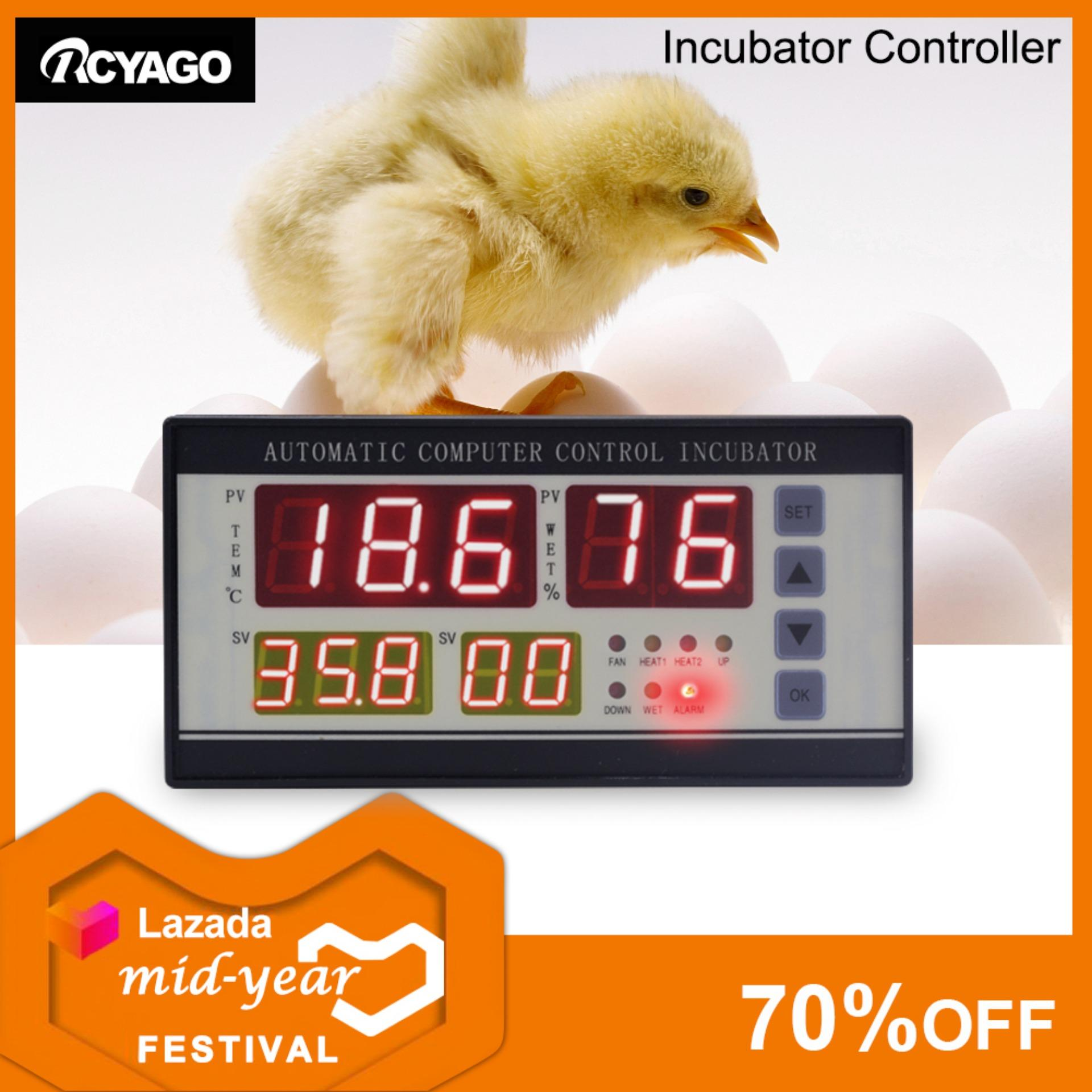 New XM-18 Digital Automatic Small Egg Incubation Controller Temperature  Controller Humidity and Temperature Sensor (Plug)
