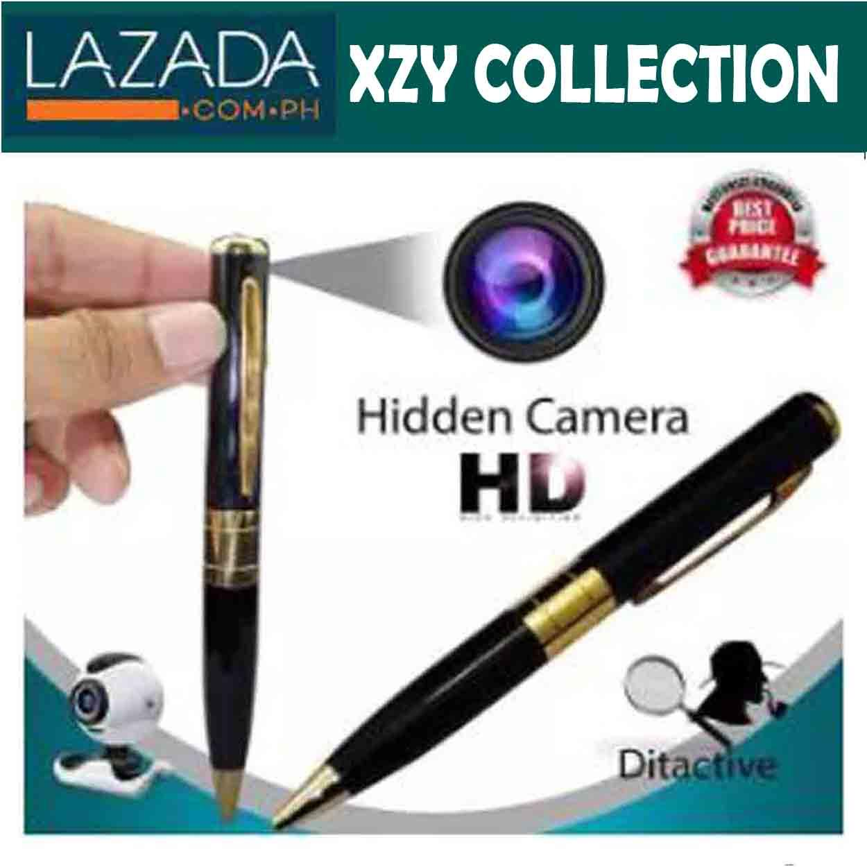 4c06051434e3 Mini DV DVR Cam Hidden Spy Pen Video Camera Recorder Spy Camcorder  (Black Gold