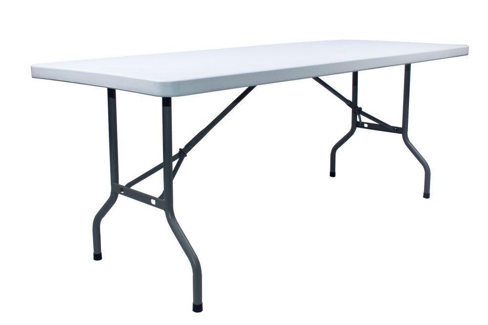 SUMO ST 7230S 6ft Solid Top Rectangular Folding Plastic Table 72 X 30