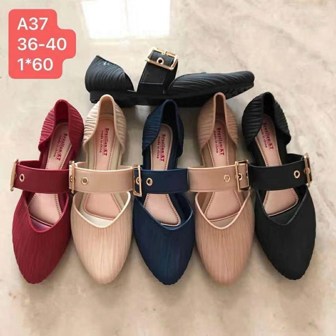 a3662cdabe BUY 1 GET 1 FREE (199 PESOS SLIPPER) Fashion Pointed sandals for women