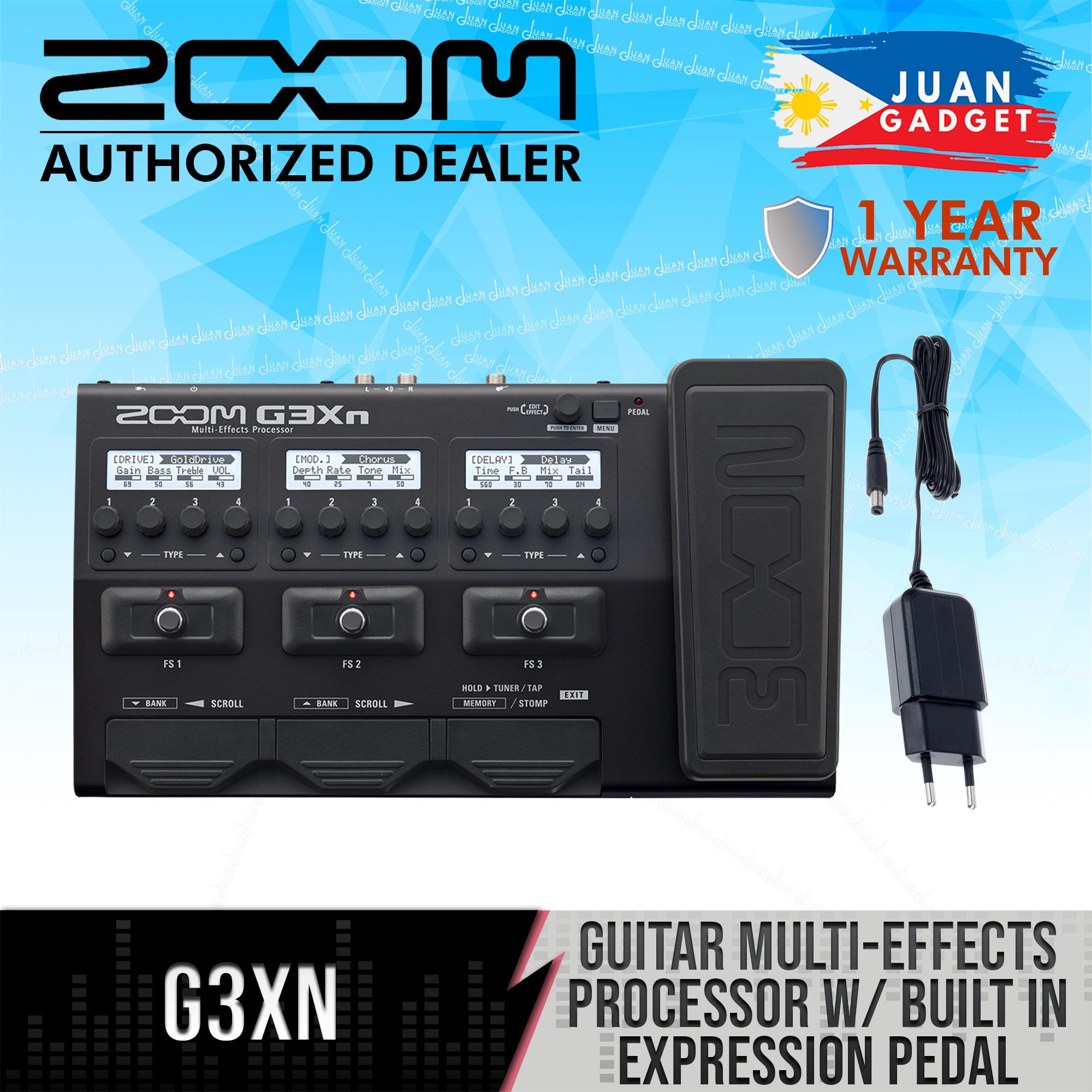Zoom G3Xn Multi-Effects Processor with Built-In Expression Pedal