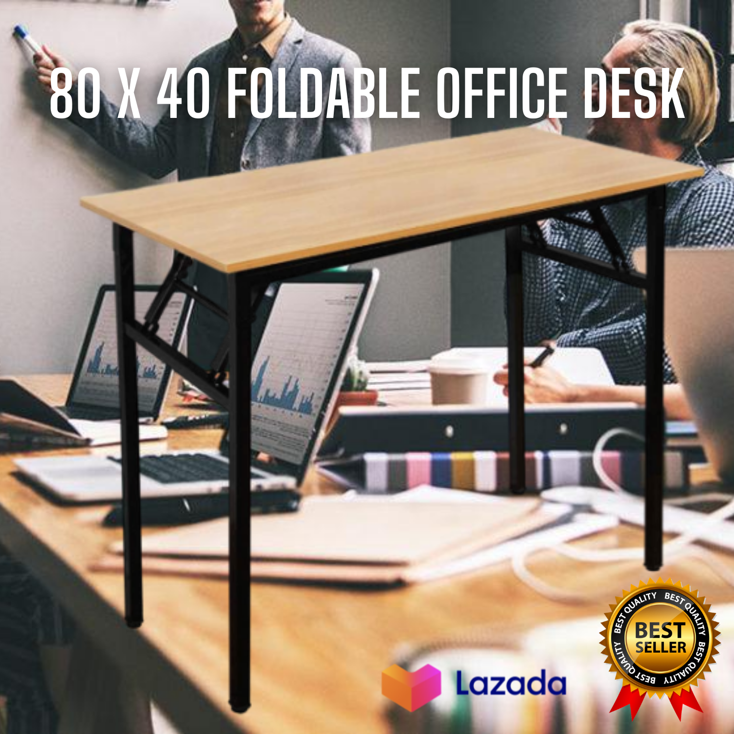 High Quality Foldable Office Desk Foldable Table Wood Table Home Office Furniture Space Saver Portable Easy To Use Lazada Ph