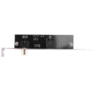 SPDIF Optical and RCA Out Plate Cable Bracket Digital Audio Output for ASUS Gigabyte MSI Mother Board thumbnail