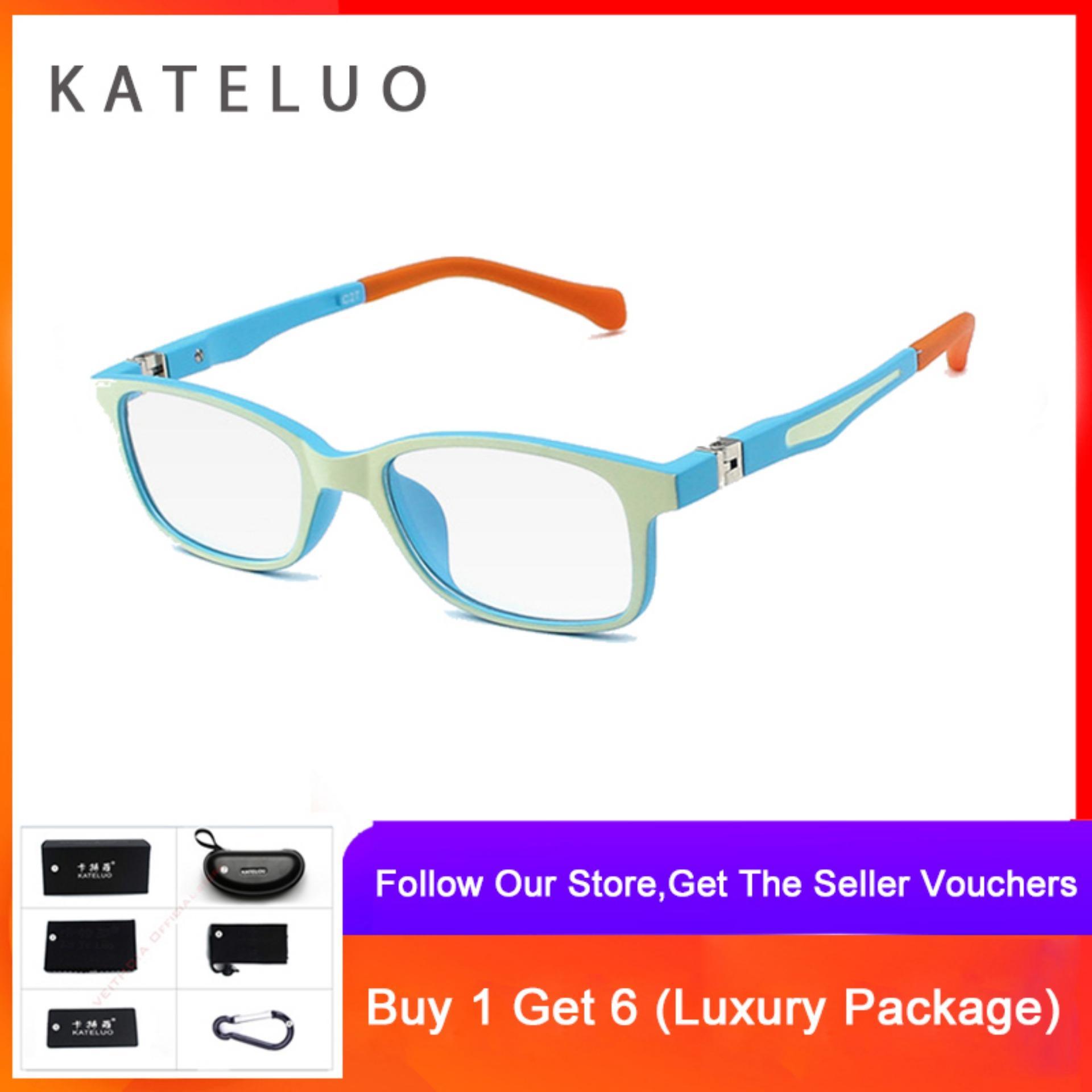 9ce6756a558e KATELUO TR90 Children Anti Computer Blue Laser laser Fatigue  Radiation-resistant Kids Eyeglasses Glasses Frame