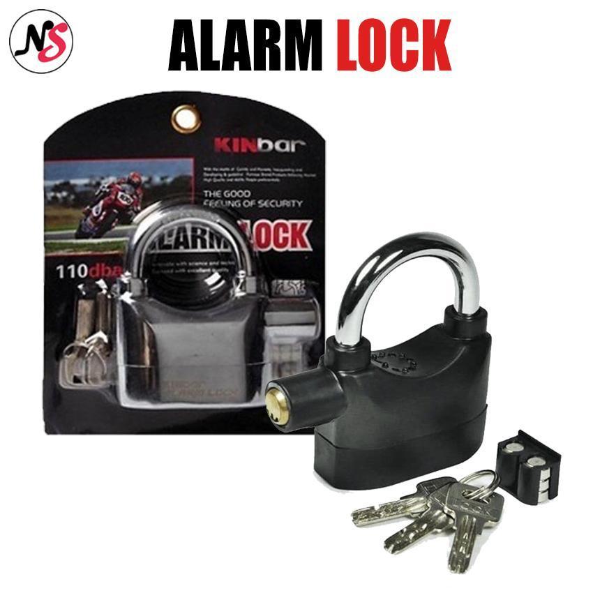 Alarm Lock Padlock for Door/Motor/Bike/Car 110db Philippines