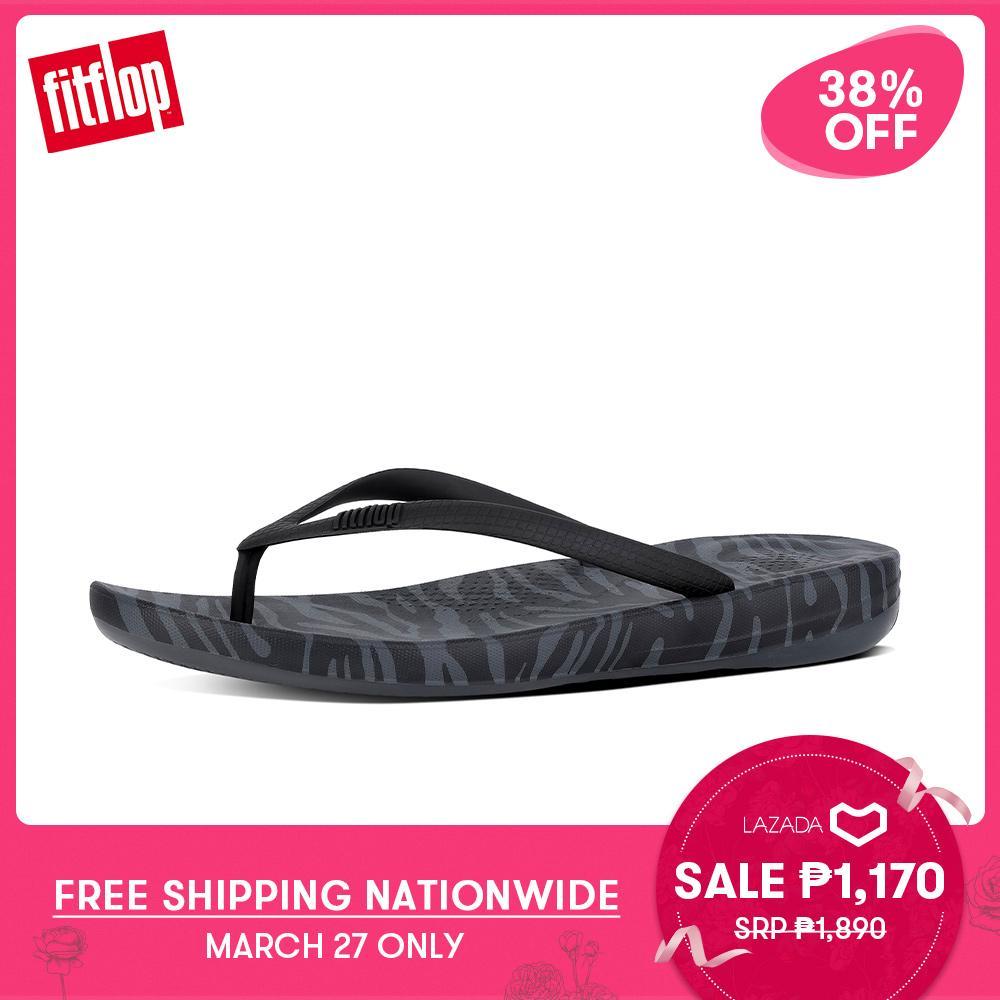 824b2d4e53e6 FitFlop Women s Sandals J36 IQUSHION ERGONOMIC FLIP-FLOPS BEACH lightweight  comfort fashion New