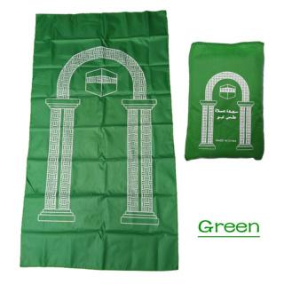 Venkenni Portable Muslim Prayer Rug Waterproof PU Braided Mat Simply Print Pouch Travel thumbnail