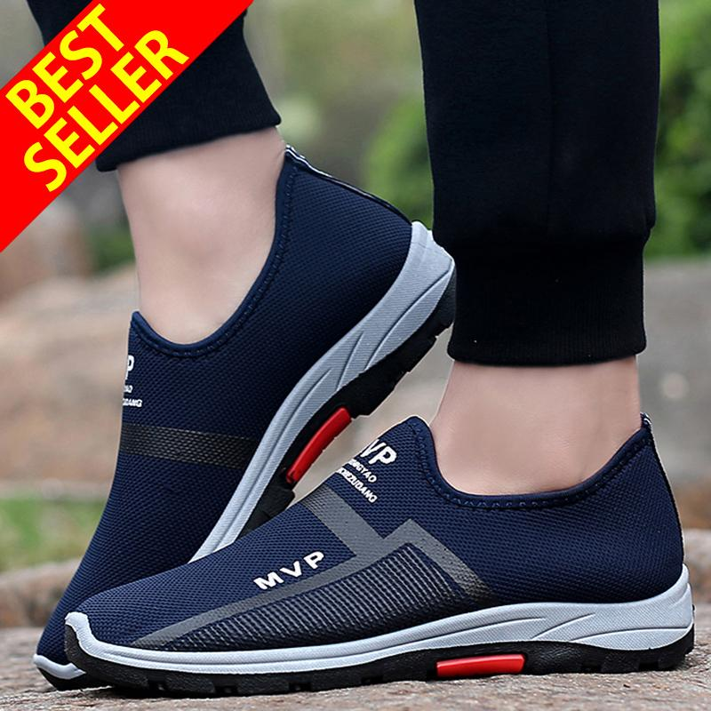 QINGSHUI New Men s Casual Sneakers Men s Running Shoes Walking Lazy Shoes  Comfortable Driving Sports Shoes Athletic 1f4ebaf31c9f