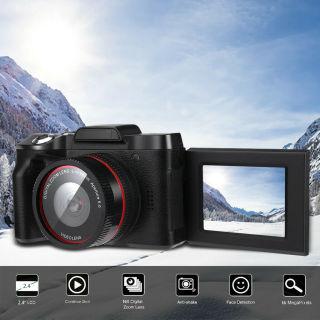 Khuyến Mãi Máy Ảnh Kỹ Thuật Số Chụp Ảnh Tự Sướng Màn Hình Lật XJ06 HD thumbnail
