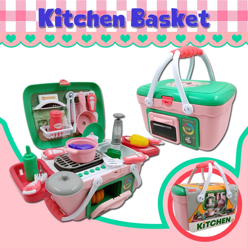 Basket Dresser Kitchen Set Toy Set Complete Accessories Kitchen Toy Set Toys For Kids Lazada Ph