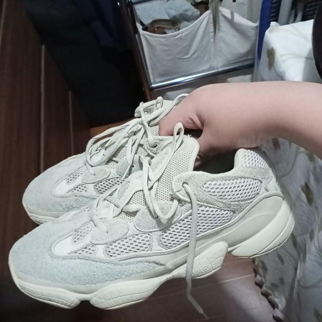 Yeezy 500 desert rat running shoes for