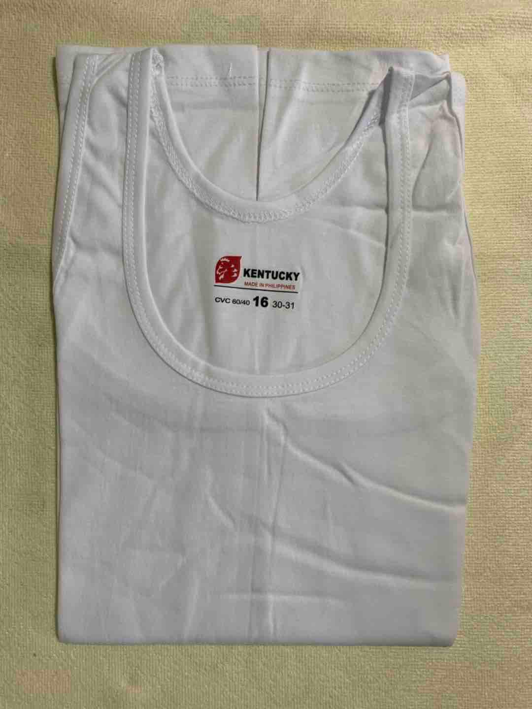 Kentucky Sando White For Kids By Smile-T&c Shop.