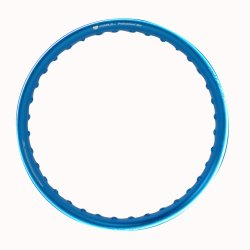 Comstar U-Type 1.60 x 14 Motorcycle Alloy Rim(Blue)