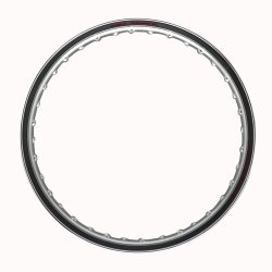 Comstar E-Type 1.6 x 17 Motorcycle Alloy Rim (Silver)