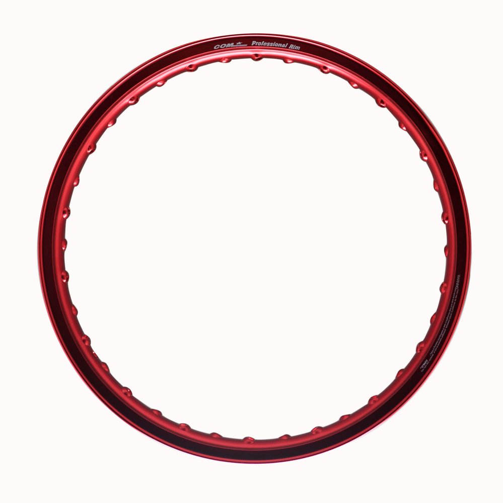 Comstar E-Type 1.6 x 17 Motorcycle Alloy Rim (Red) - thumbnail ...