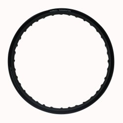 Comstar A-Type 1.60 x 17 Motorcycle Alloy Rim (Black)