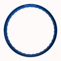 Comstar A-Type 1.60 x 17 Motorcycle Alloy Rim (Blue)