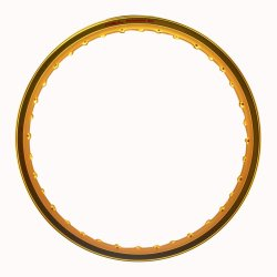 Comstar A-Type 1.20 x 17 Motorcycle Alloy Rim (Gold)