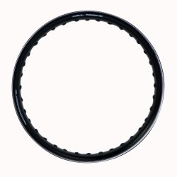 Comstar U-Type 1.60 x 14 Motorcycle Alloy Rim (Black)