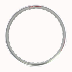 Comstar U-Type 1.85 x 17 Motorcycle Alloy Rim (Silver)