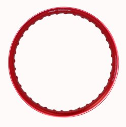 Comstar U-Type 1.60 x 17 Motorcycle Alloy Rim (Red)