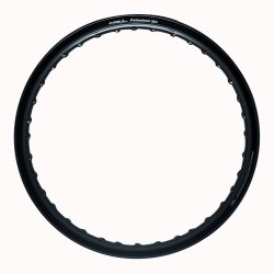 Comstar E-Type 1.60 x 17 Motorcycle Alloy Rim (Black)