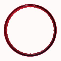 Comstar A-Type 1.40 x 17 Motorcycle Alloy Rim (Red)