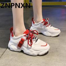 ZNPNXN Giày thể thao dày cho phụ nữ Giày ngoài trời hàng ngày của Hàn Quốc Kích thước 35-40