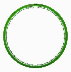 Osaki 1.40 x 17 Motorcycle Rim (Eye Epo Green/Ano Silver)