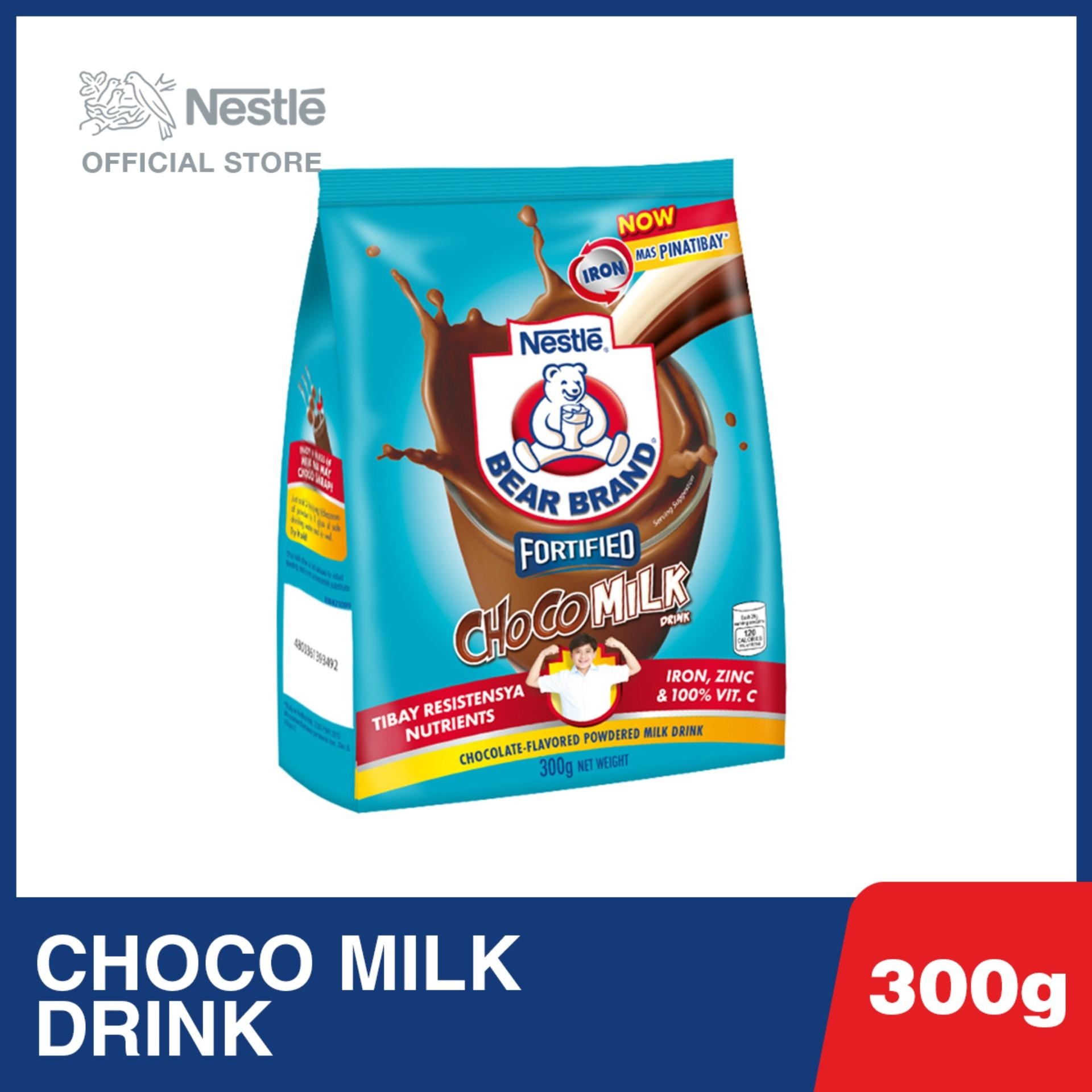 Bear Brand Choco Milk Drink 300g By Nestle Official Store.