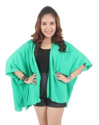 Love My Clothes Ladies Kimono (Green)