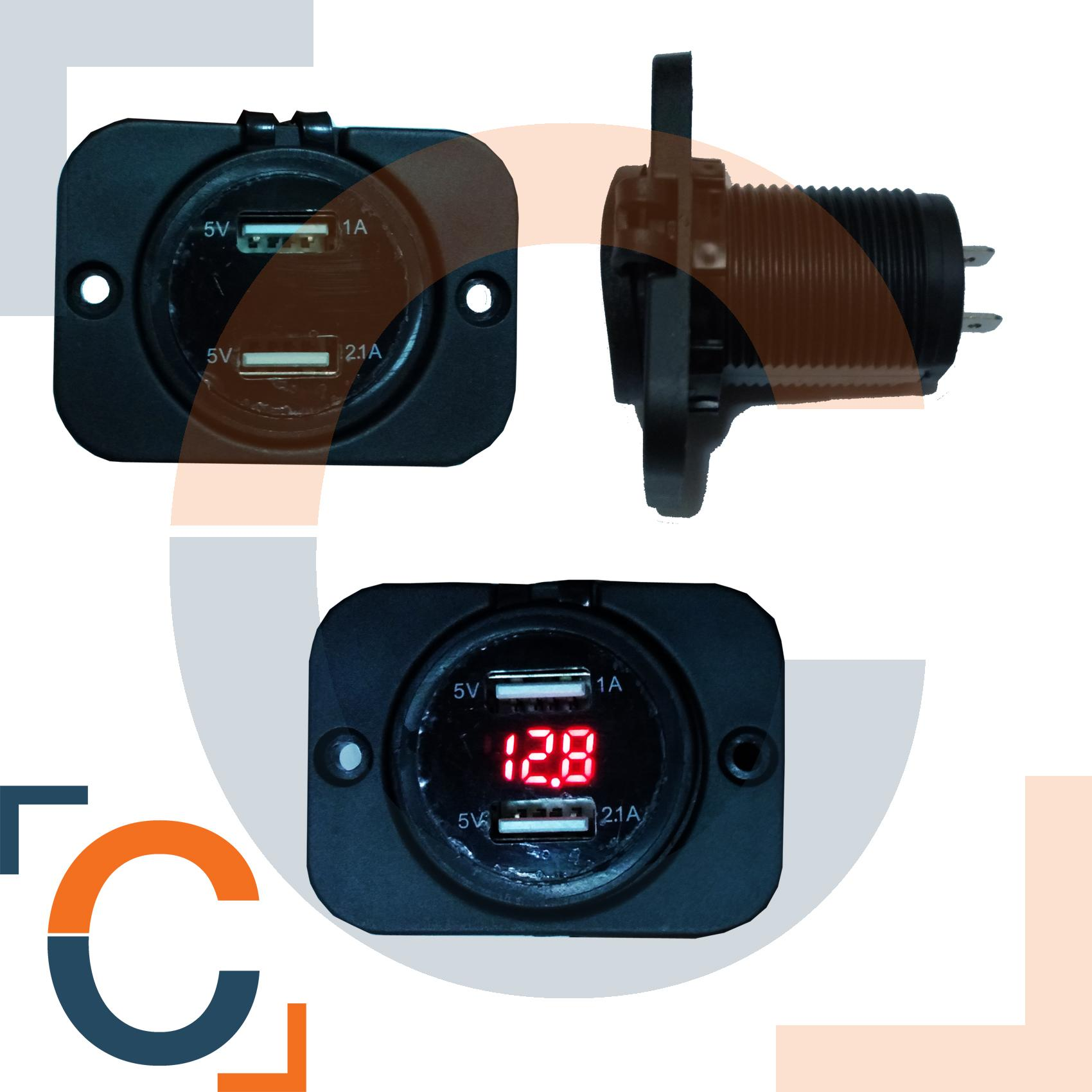 Voltmeter With Fast Charger By Chubibo.