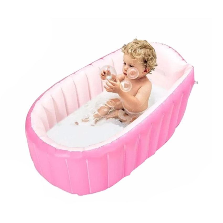 Fast Inflatable Baby Bath Tub (pink) By Gonzalez General Merchandise.