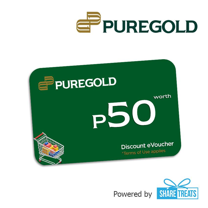 Puregold Php50 Worth (sms Evoucher) [gcash Special Deal] By Share Treats.