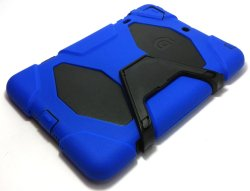 Heavy Duty Shockproof Case for iPad Mini (Blue/Black)