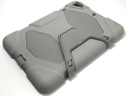 Heavy Duty Shockproof Case for iPad Mini (Grey)