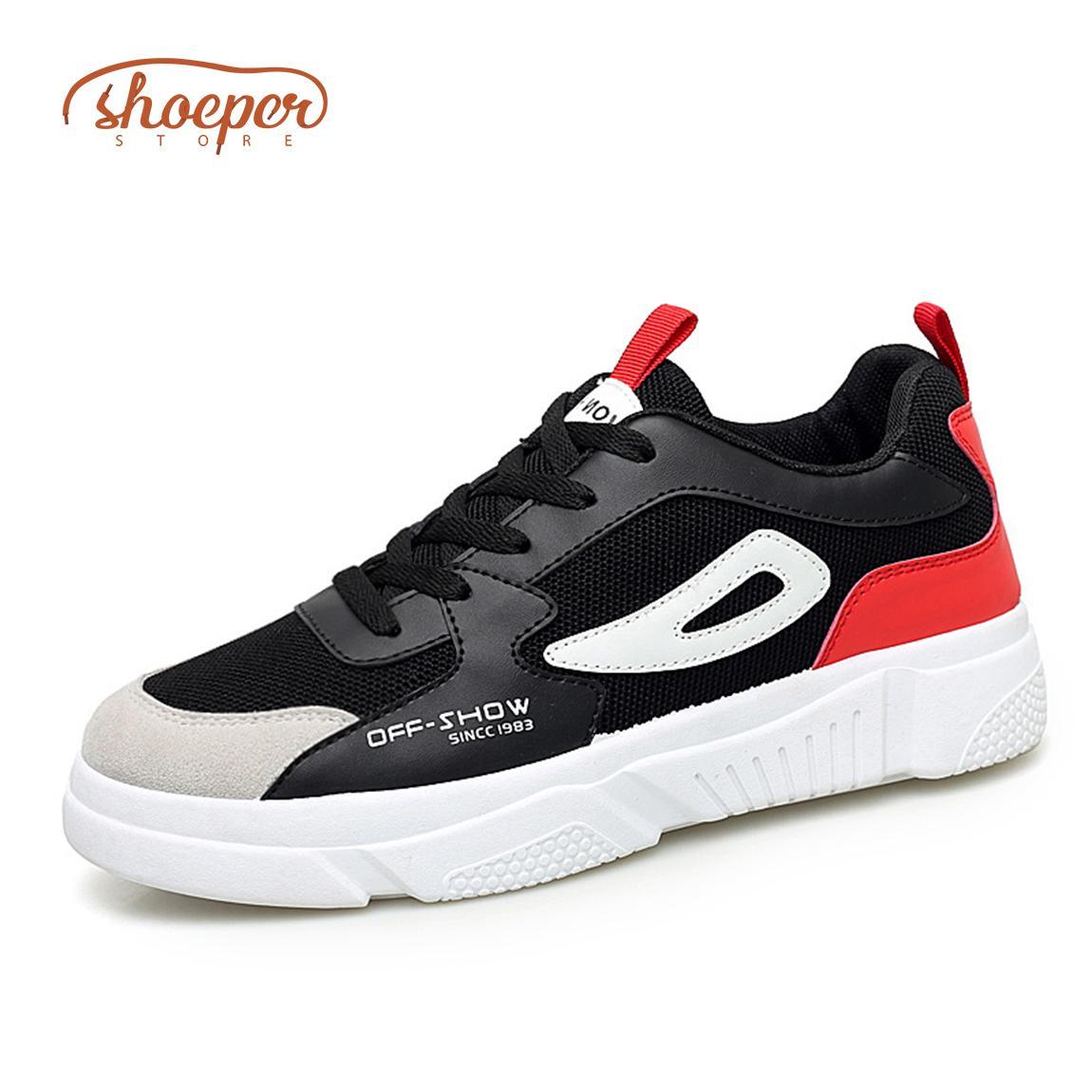 Spring New Net Shoe Man Breathable Cloth Shoes Tide Black Lattice Strap Shoe Men's Casual Shoes