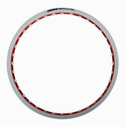 Osaki 1.40 x 17 Motorcycle Rim (2T+Eye Epo White+Ano Red)