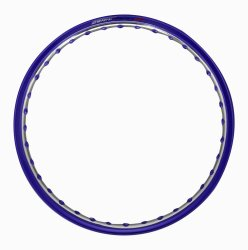 Osaki 1.40 x 17 Motorcycle Rim (Violet/Silver)