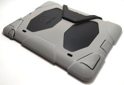 Heavy Duty Shockproof Case for iPad 2/3/4 (Grey/Black)