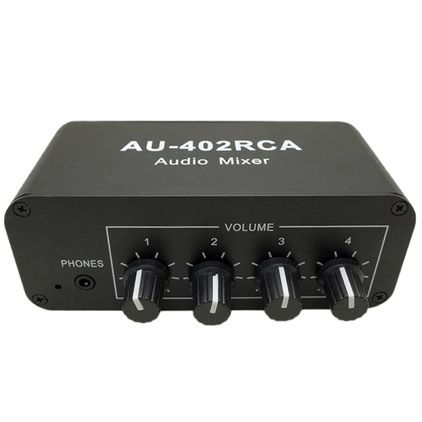 Bảng giá Multi-Source RCA Mixer Stereo Audio Reverberator Audio Switch Switcher 4 Input 2 Output Driver Headphone Volume Control Phong Vũ