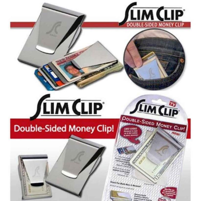 Slim Clip Double Sided Money Clip By Susan1188.