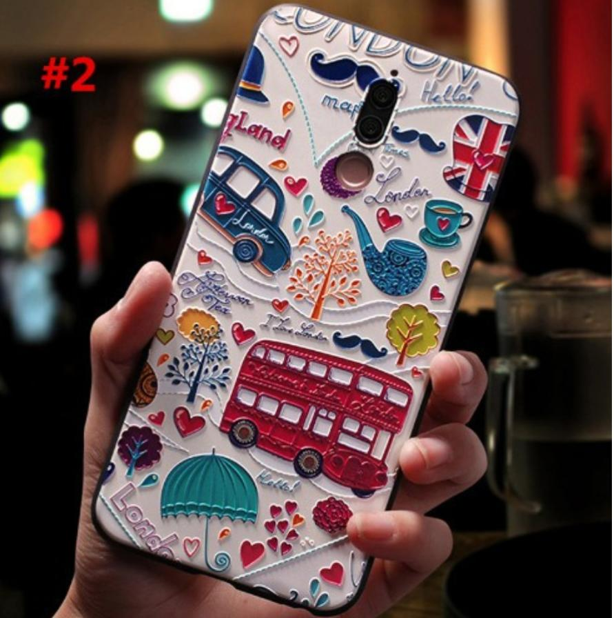 Nova 2i Case Cover 3d Relief Soft Tpu Casing For Nova 2i By Love-Lotus.