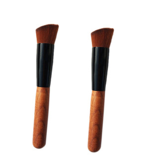 2PCS Makeup Brush Inclined Foundation Brush Makeup Contour Brush Professional Beauty Cosmetics Tools thumbnail