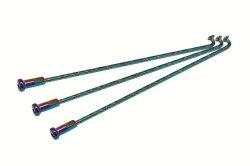 Osaki 10 x 161 X-Generation Spoke Set (Rainbow Splash)