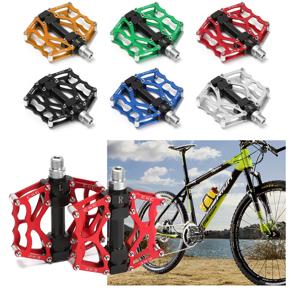 Platform Pedaling Mountain Bike Parts Colorful Bicycle Pedals Bearings Pedal