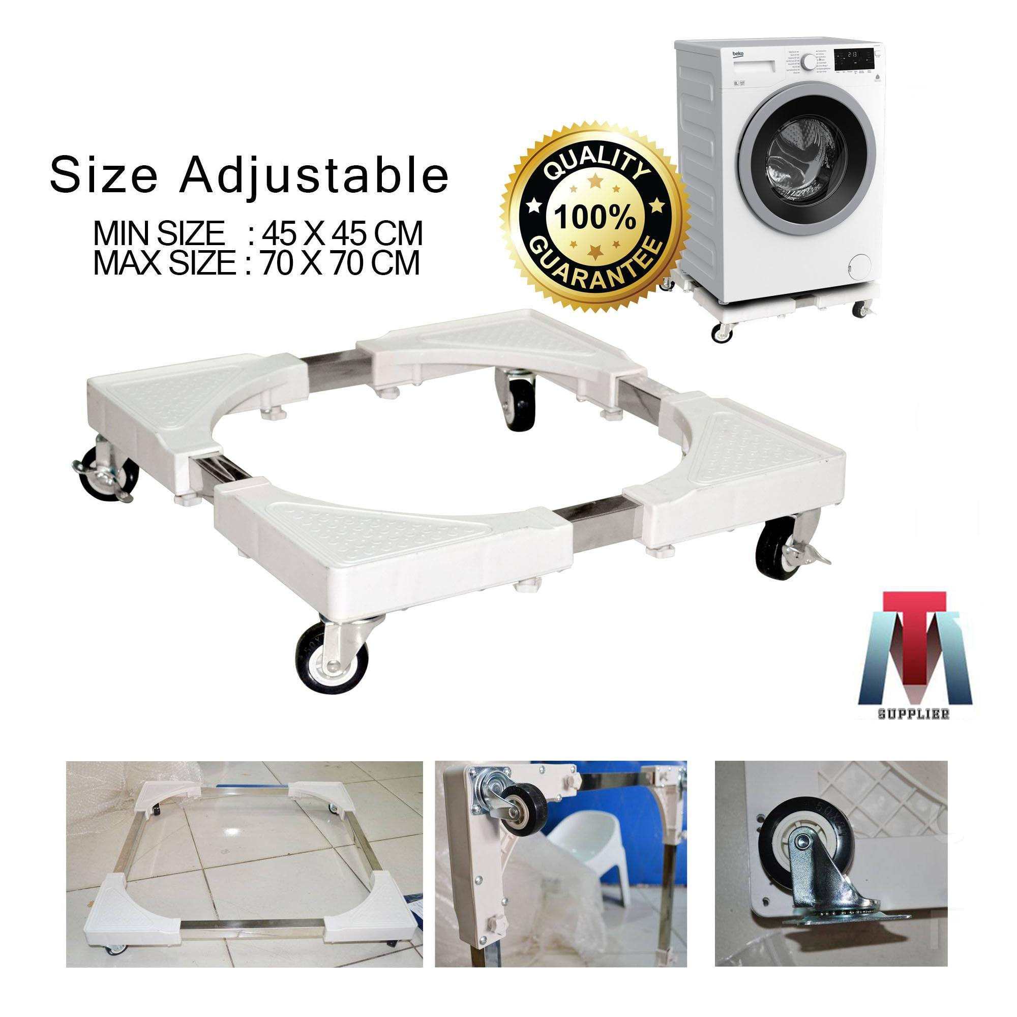 Washer Dryer Accessories For Sale Parts Prices Top Load On Ge Washing Machine Motor Wiring Diagram White Movable And Adjustable Stand Rack Refrigerator