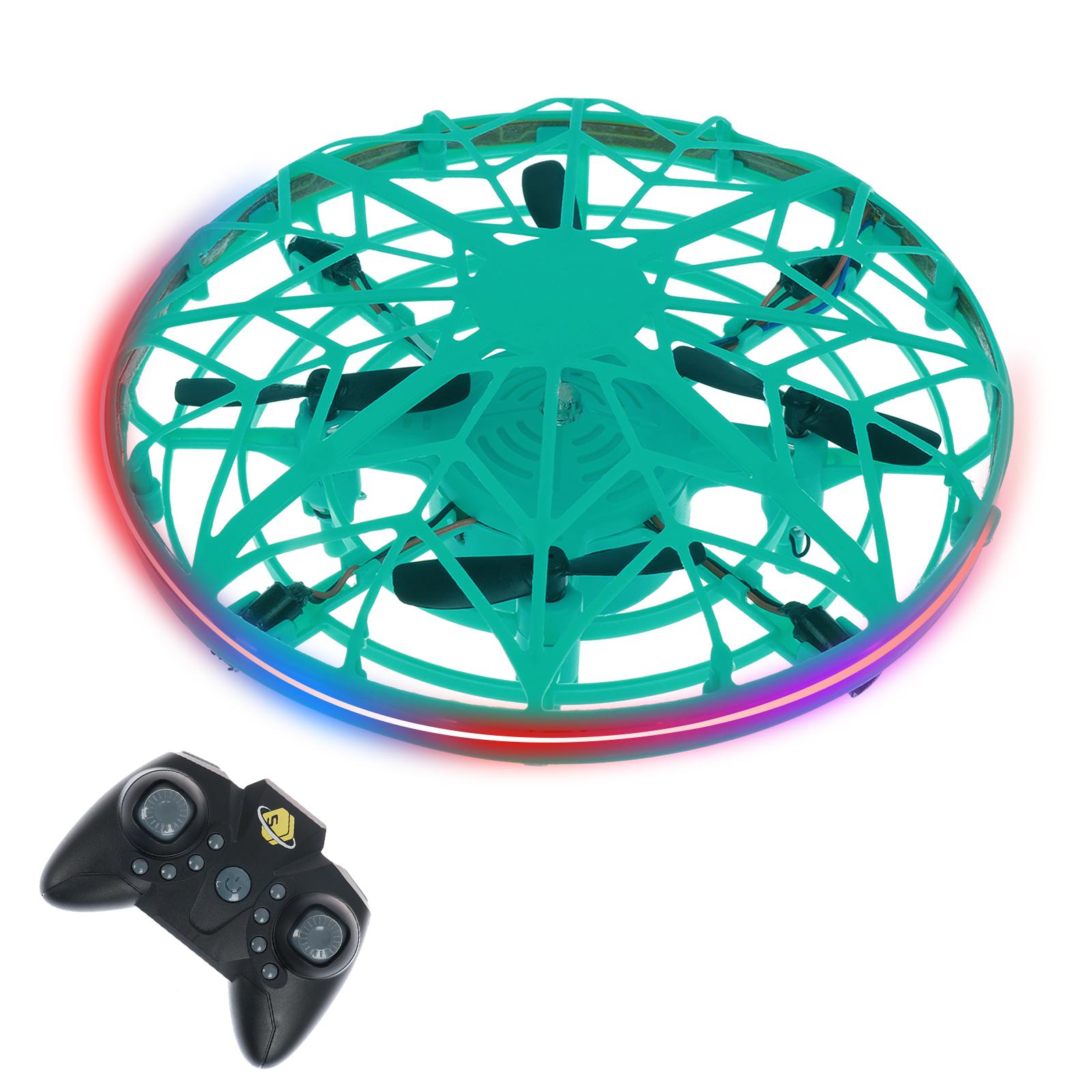 KINY Mini Drone, Đồ Chơi Bay Đồ Chơi LED Tay Hoạt Động Bay Không Người Lái Cho Trẻ Em Người Lớn Máy Bay Không Người Lái Mini Rảnh Tay Quà Tặng Nhỏ UFO Đồ Chơi Bóng Bay Đồ Chơi Máy Bay Không Người Lái Xoay 360 Độ Và Điều Khiển Từ Xa