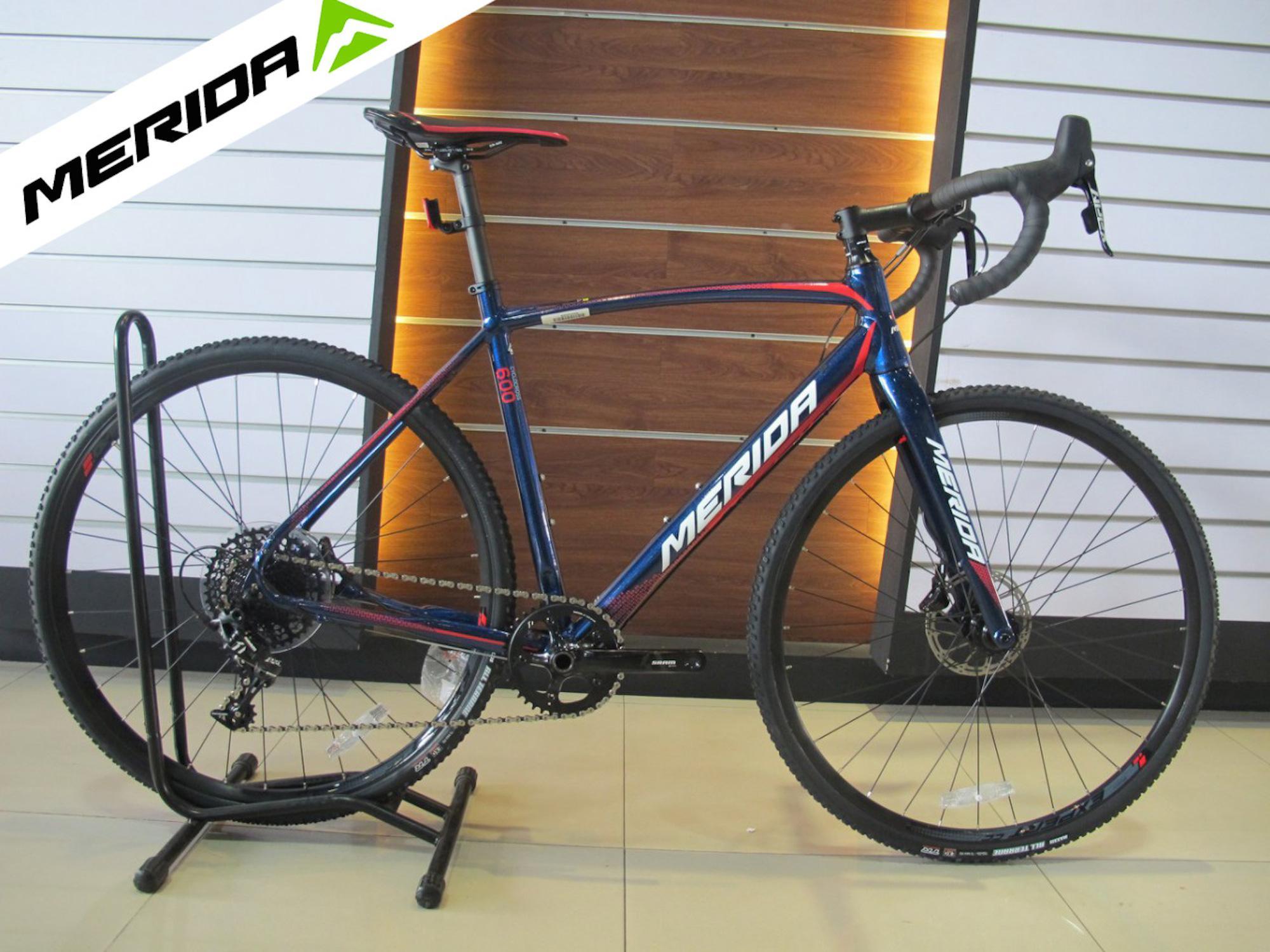 MERIDA CYCLOCROSS 600 2018 Hybrid AUTHENTIC Road Bike Shiny Blue